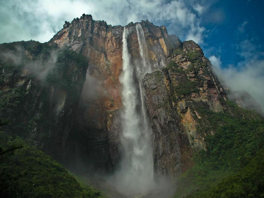 Angel Falls; The Highest Falls In The World
