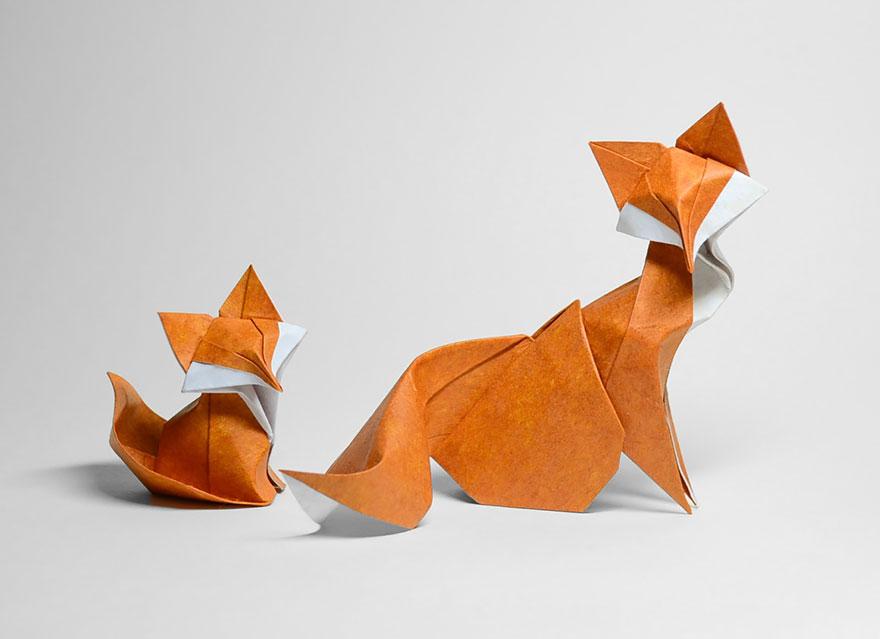 Animal Origami Paper Art Hoang Tien Quyet 1