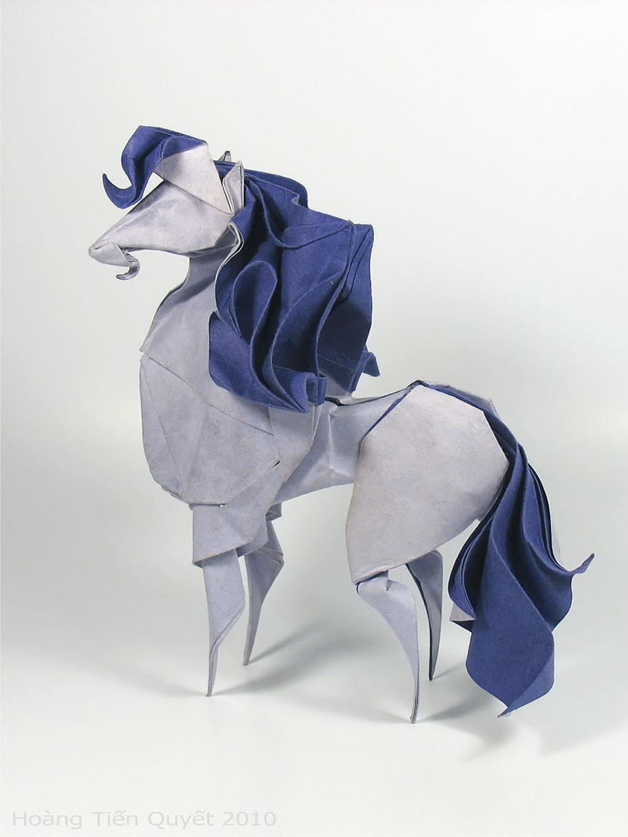 Origami Wet Folding Animals