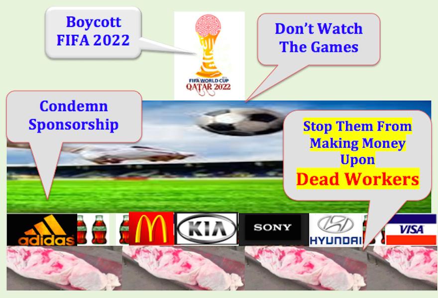 Boycott Fifa 2022