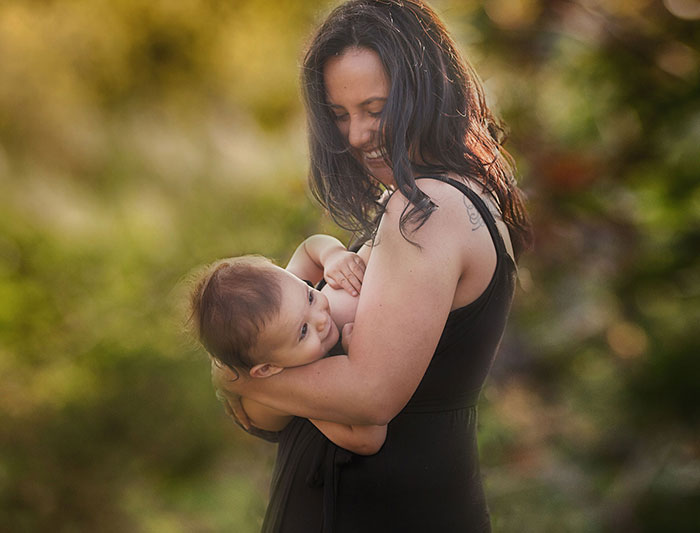 I Encourage Mothers Not To Hide Breastfeeding With My Inspiring Photographs