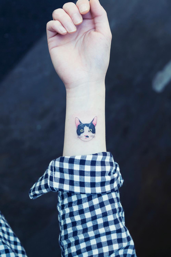 Cat Tattoos Are Probably The Cutest Way To Break The Law In South Korea
