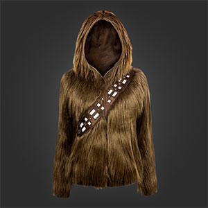 Chewbacca Hoodie Lets You Become A Wookiee From Star Wars