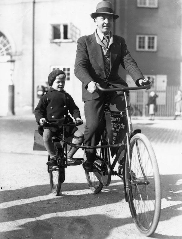 Bicycles In Copenhagen, 1910s