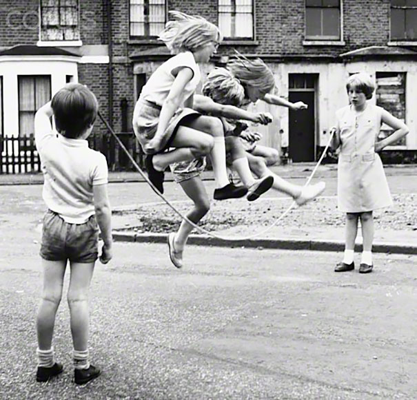 Girls Jump Rope In Zennor Road, 1960s