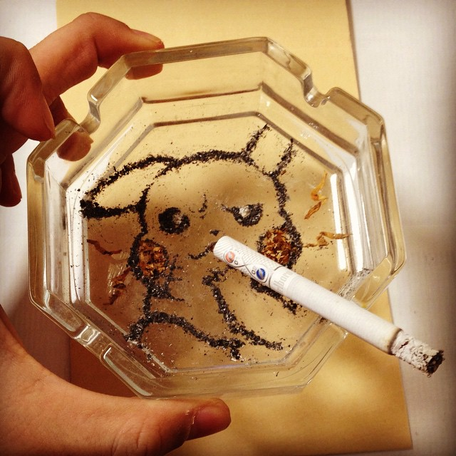 Cigarettes Kill, But This Japanese Artist Makes Killer Art From Ashes