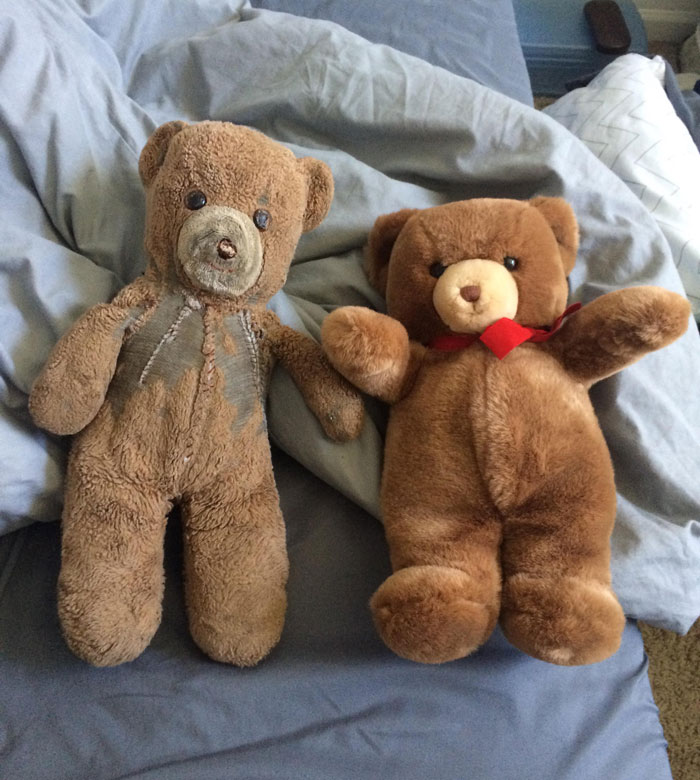 30 Years Ago, This Mom Bought 2 Identical Teddies – One For Her Son And Another For Her Son's Child
