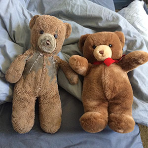 30 Years Ago, This Mom Bought 2 Identical Teddies - One For Her Son And Another For Her Son's Child