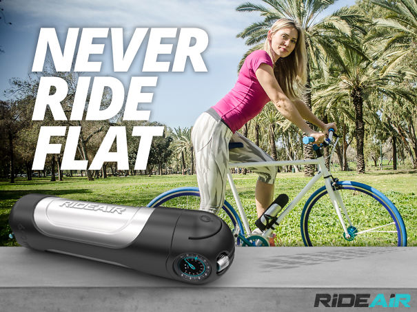 Rideair- The Next Generation Of Effortless Air Pumps