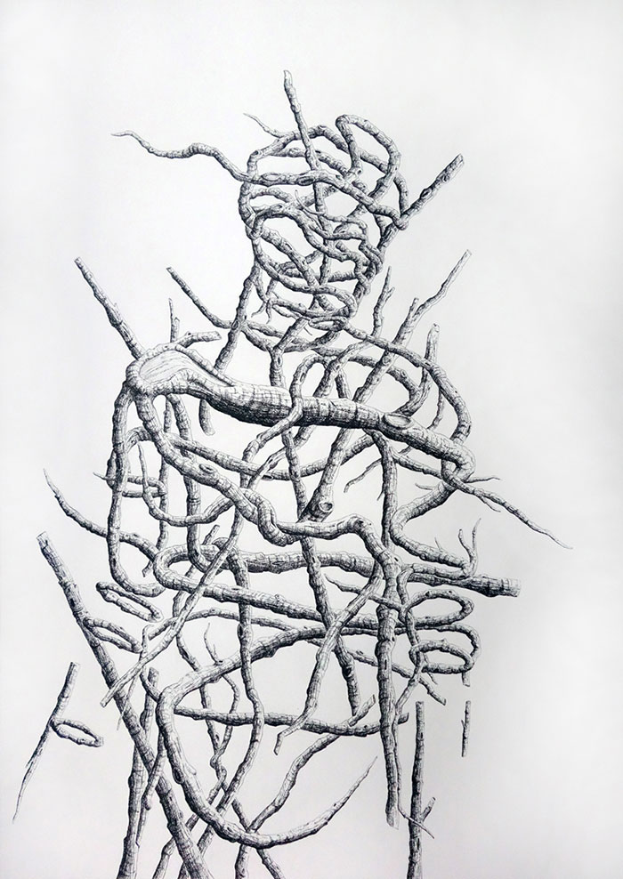 Lignified: I Push The Boundaries Of Stick Men In Charcoal And Pen