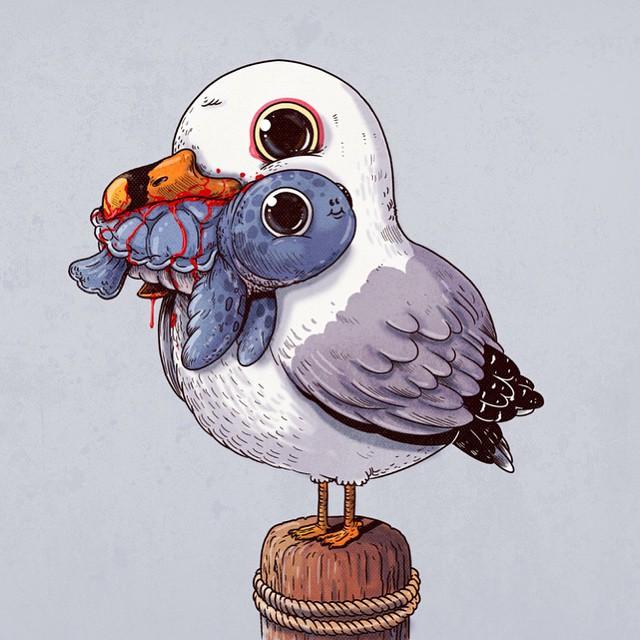 cute-disturbing-animal-cartoons-predators-and-prey-alex-solis-1