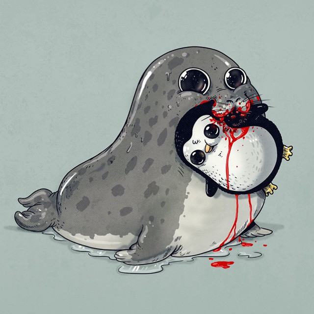 cute-disturbing-animal-cartoons-predators-and-prey-alex-solis-3