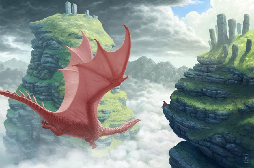 cute-dragons-paintings-illustrations-lynton-levengood-12