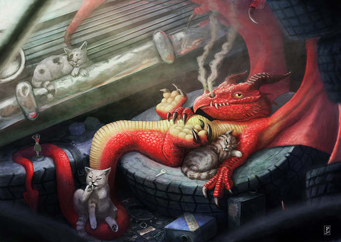 What Are Dragons Doing Nowadays?