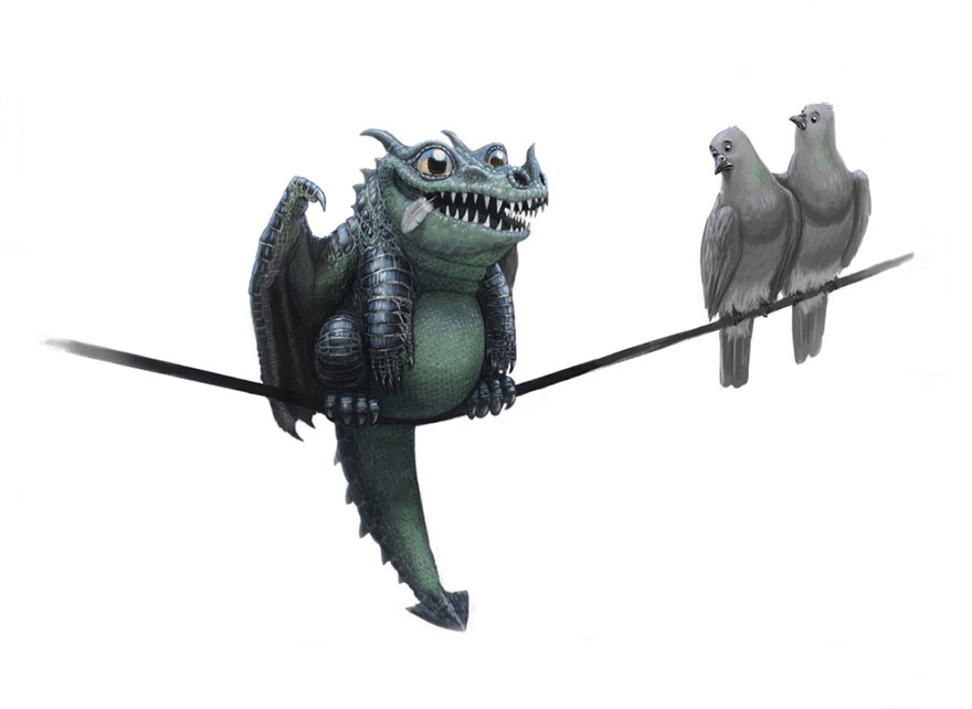 cute-dragons-paintings-illustrations-lynton-levengood