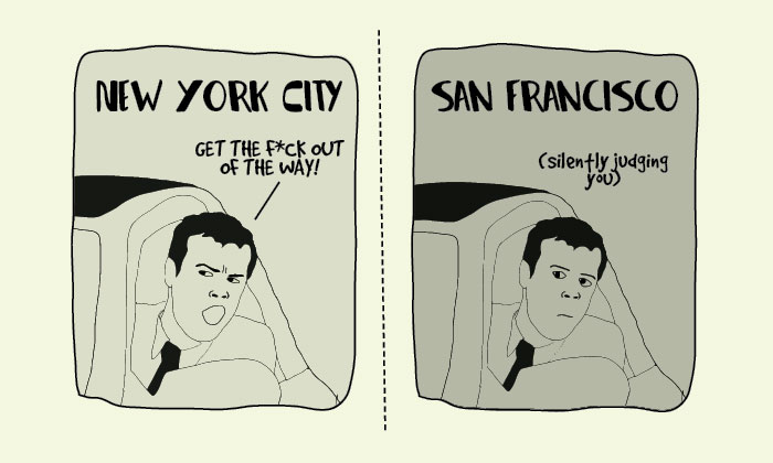 What Is The Difference Between Living in New York and San Francisco?