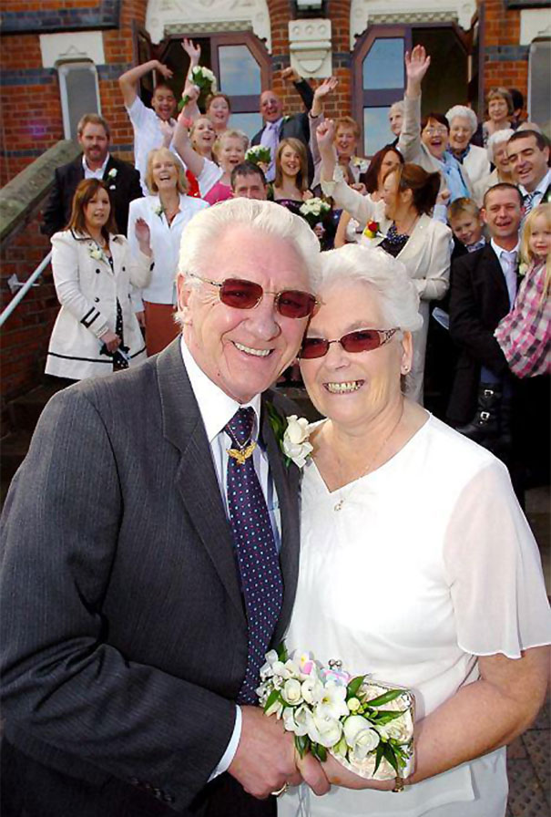Elderly Couple Marries 53 Years After Their Engagement