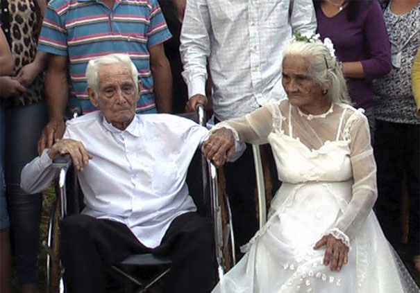 Eighty Years After They Met, Jose Riella, 103, And Martina Lopez, 93, Finally Get Married