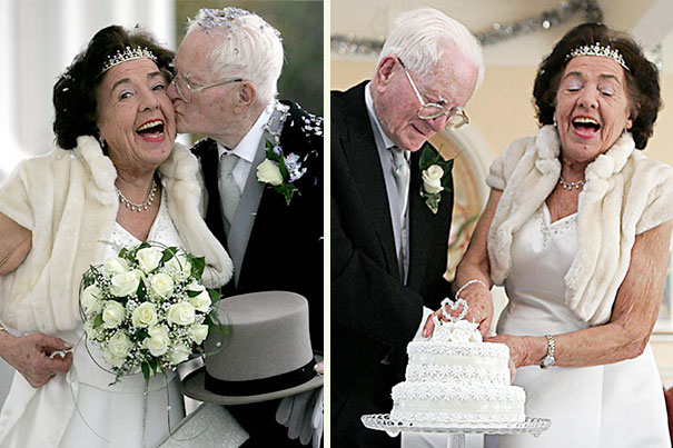 Britain's Oldest Bride And Groom Marry After Meeting At A Daycare Center 1 Month Earlier