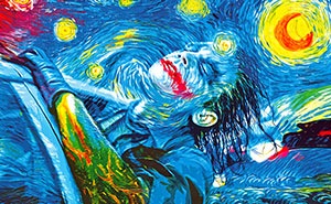 I Transformed Famous Paintings Into Batman Pop Art