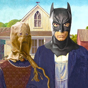 I Transform Famous Paintings Into Batman Pop Art