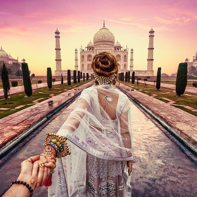 Guy Who Follows His Girlfriend Around The World Goes To India