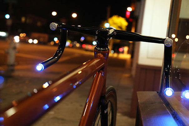 Rear-facing Led Lights For Your Bicycle
