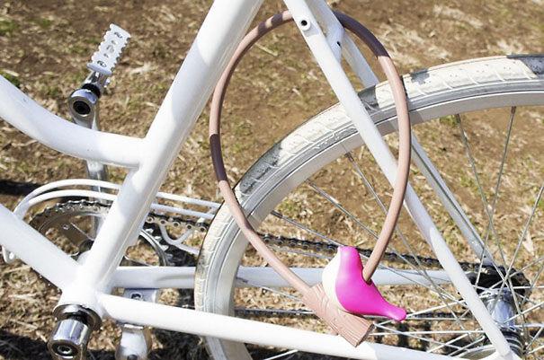Cute Bike Lock
