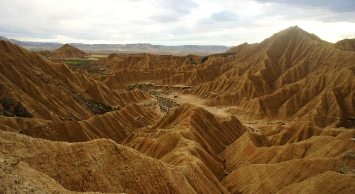 """bardenas Reales"" Of Navarra, Spain."