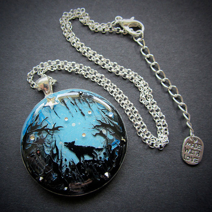 I Make Jewelry With Magical Miniature Scenes