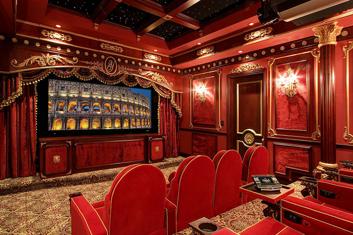 17+ Of The Most Amazing Home Movie Theaters You Have Ever Seen