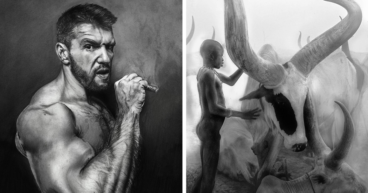 Image of: Artists Graphite Rush My Photorealistic Pictures Drawn With Graphite Pencils Bored Panda Bored Panda Graphite Rush My Photorealistic Pictures Drawn With Graphite