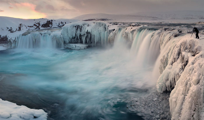 Ice-falls From The North Pole