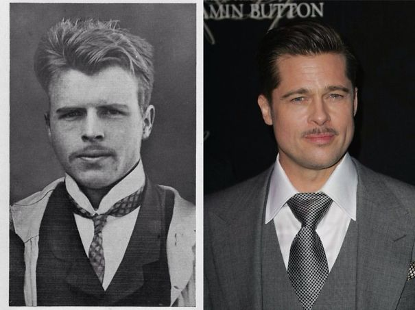 Hermann Rorchach And Brad Pitt