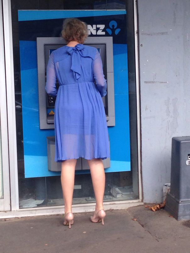 This Cash Machine. That Dress