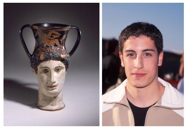 Antient Greek Cup Looks Like Jason Biggs