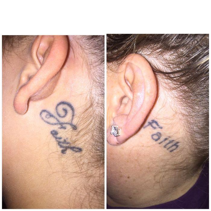 Mom & Daughter Matching Tattoos