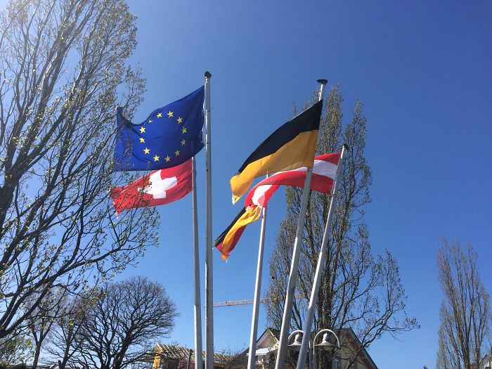 Germany,switzerland And Austria