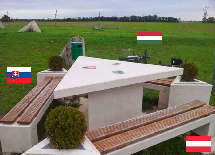 Slovakia, Austria And Hungary