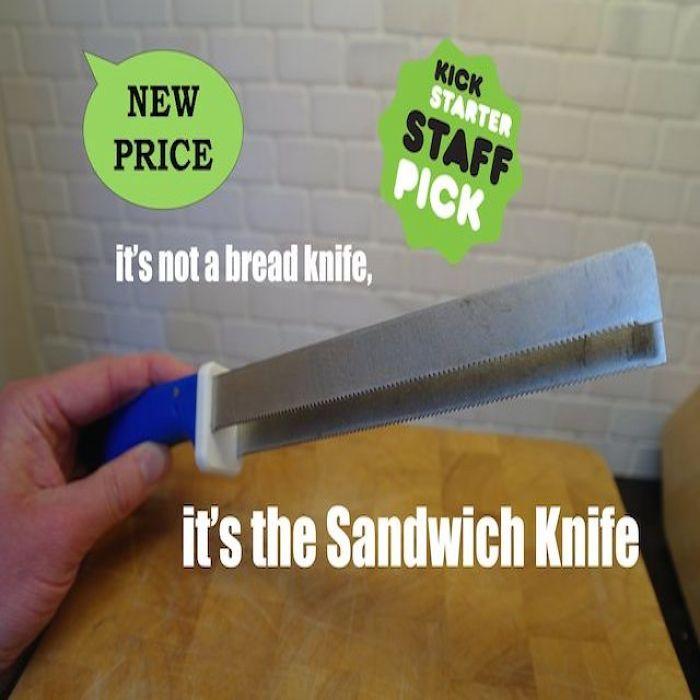 It's Not A Bread Knife, It's The Sandwich Knife