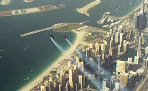 Two Guys With Jetpacks Fly Over Dubai In Epic Video