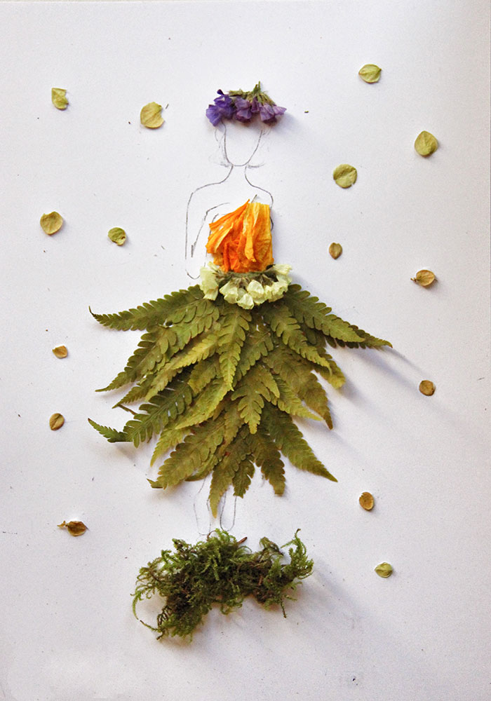 Lithuanian Library Invited Readers To Create Floral Illustrations For Their Mothers