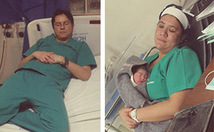 Doctors Post Pics Where They Sleep At Work To Defend Med Resident Caught Asleep