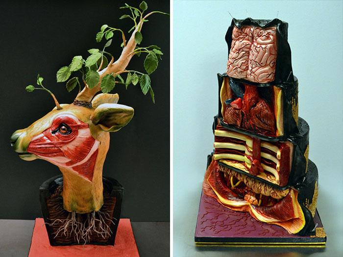 Creepy Realistic Cake Art By Annabel de Vetten