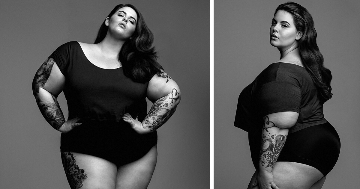 a826118b1c Plus-Sized Model Challenges Beauty Standards By Starring In Her First  Modelling Shoot