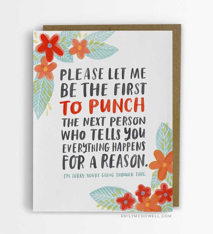 Cancer survivor creates empathy cards for people with serious postcards serious illness cancer empathy cards emily mcdowell m4hsunfo