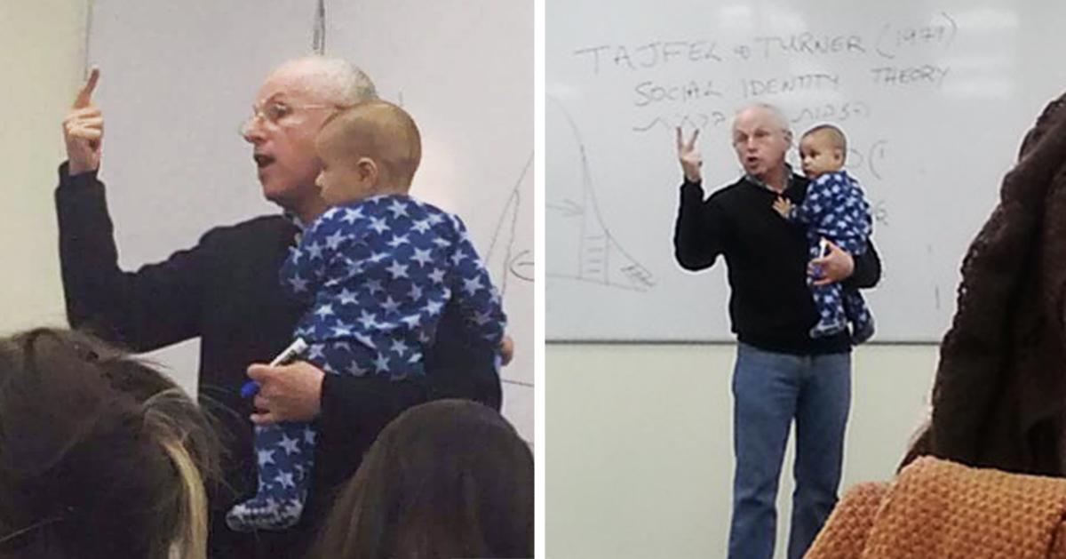 profesor-sydney-engelberg-calma-bebe-clase-universidad-jerusalen-fb