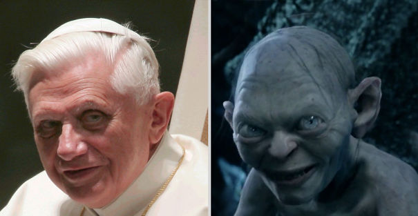 Ratzinger And Gollum