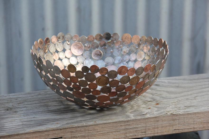 reciclados-metálicos esculturas-key-coin-michael-moerkey-4
