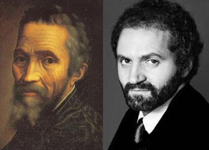 Michelangelo Reincarnated As Gianni Versace